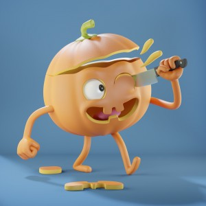 Happy Halloween by Metin Seven - LuxcoreRender.jpg
