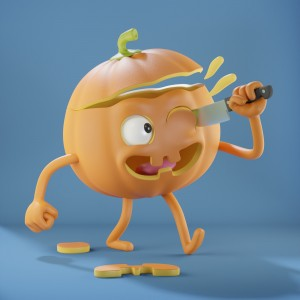 Happy Halloween by Metin Seven - LuxcoreRender newest.jpg